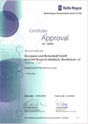 Ein weiteres Zertifikat